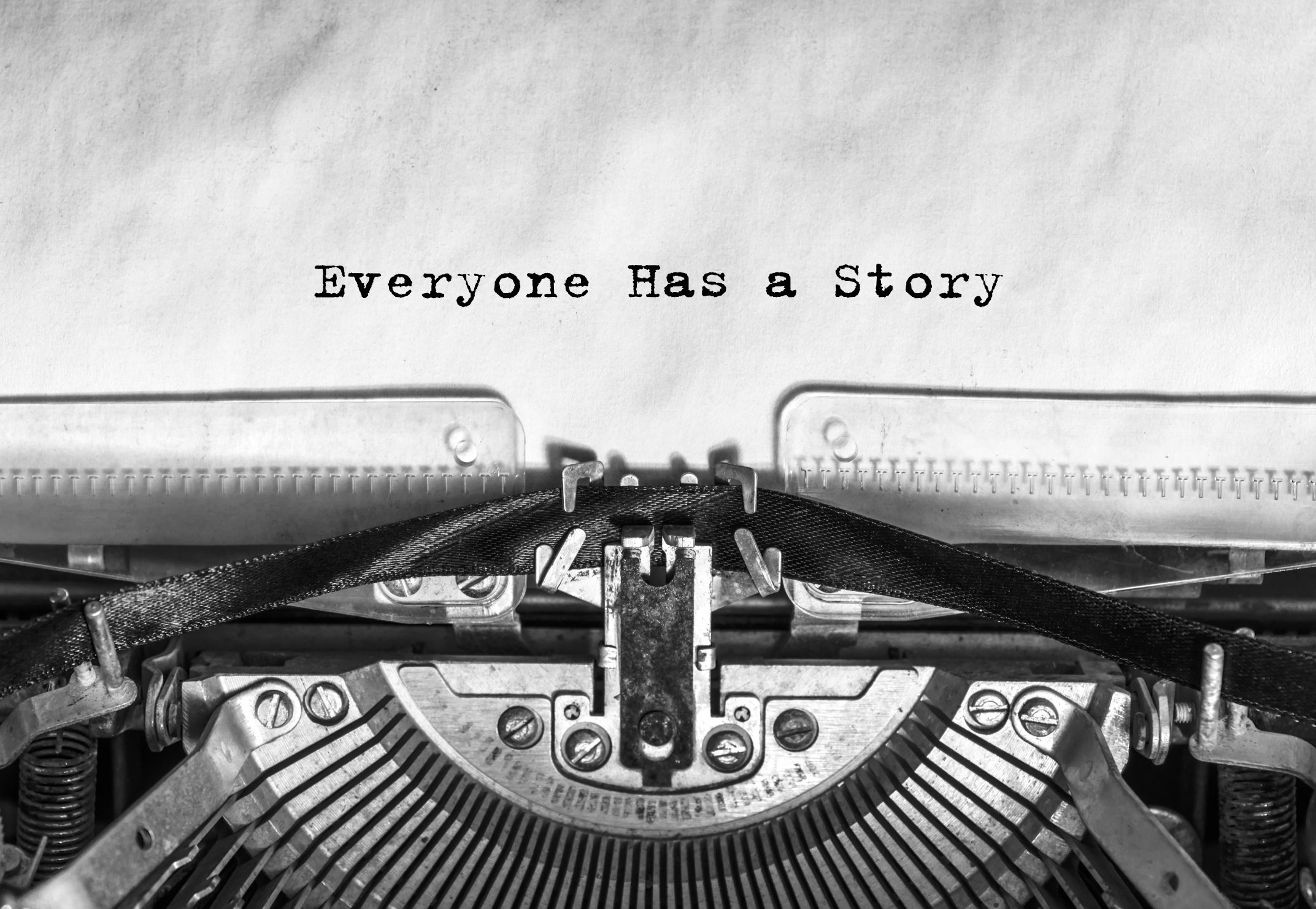 Old Typewriter - Everyone Has A Story
